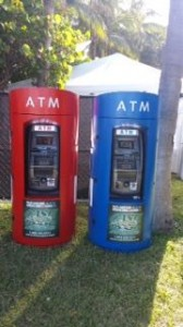 red and blue atm